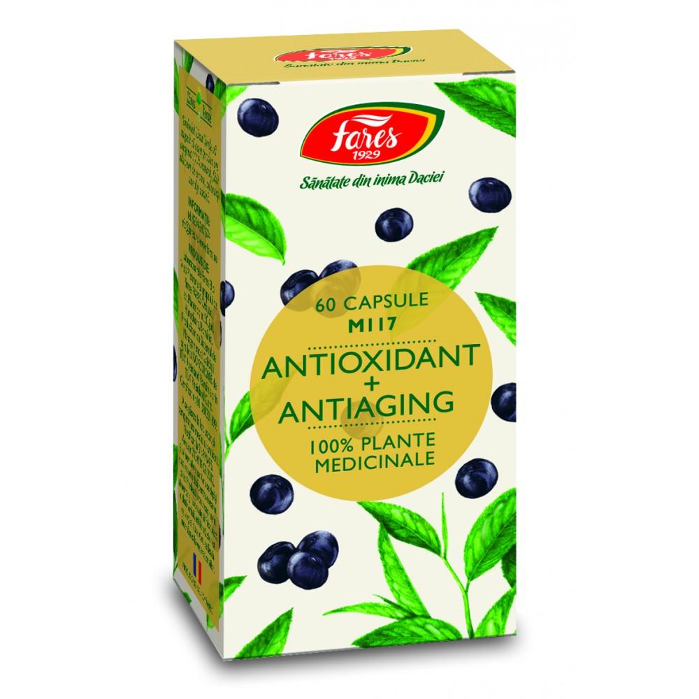 Antioxidant + Antiaging, M117, 60 capsules