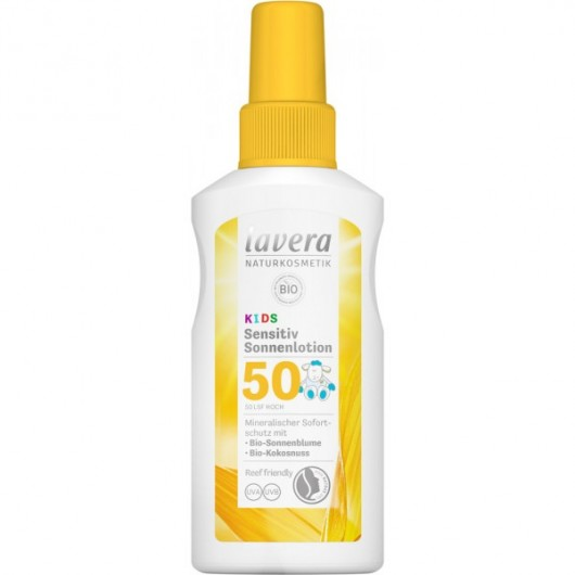 BIO sunscreen lotion for children SPF 50, 100ml, Lavera