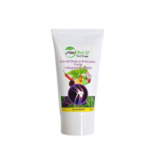 FORTE Bones and Joints Cream + Magnesium and MSM, Natura Plant 150ml