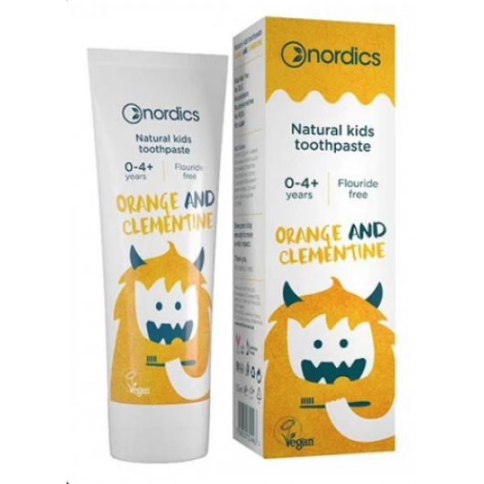 Natural toothpaste for children with oranges and clementines, Nordics, 50ml