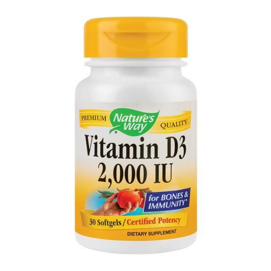 Vitamin D3 2000UI 30cps