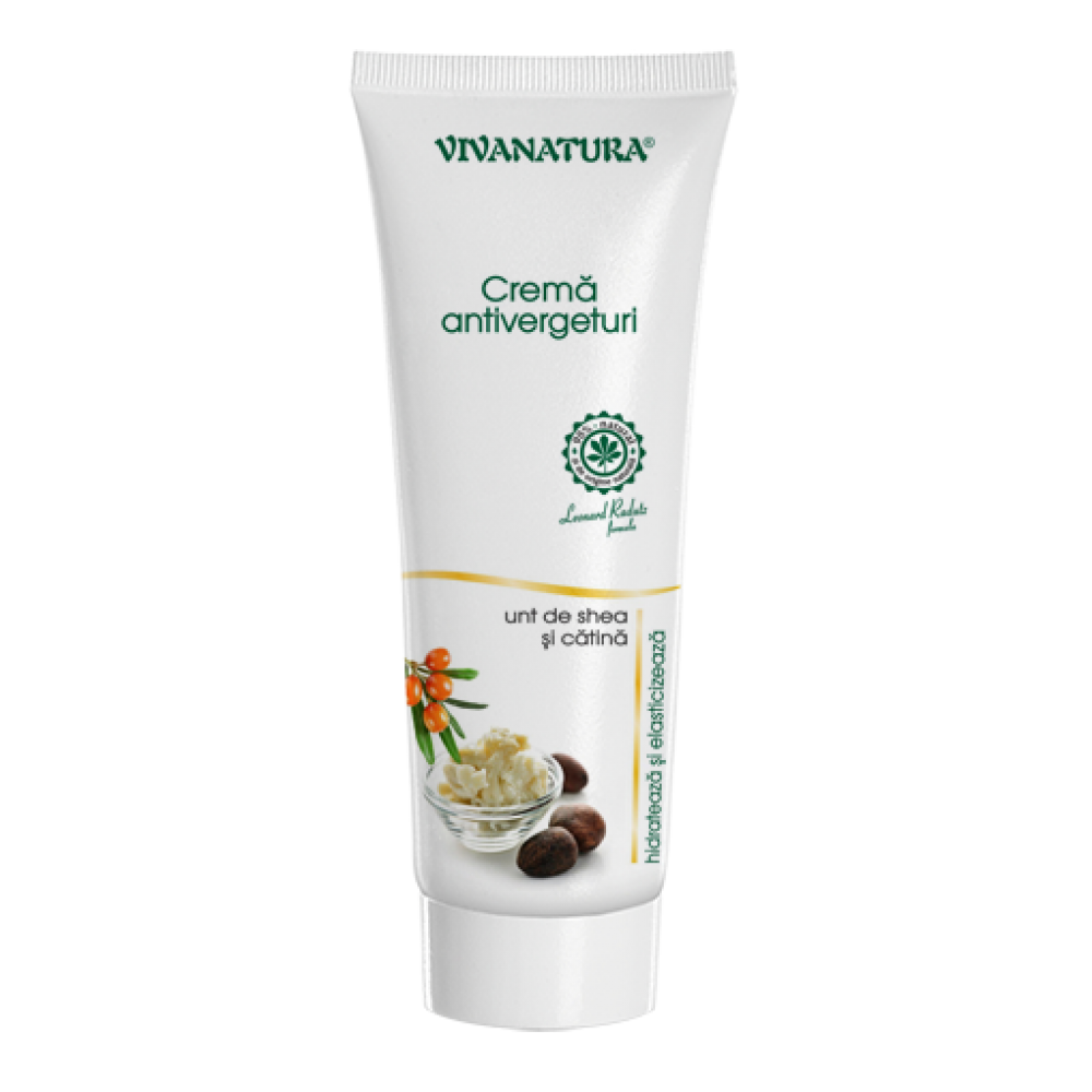 Anti-stretch mark cream with Shea and Sea Buckthorn Butter, 250ml