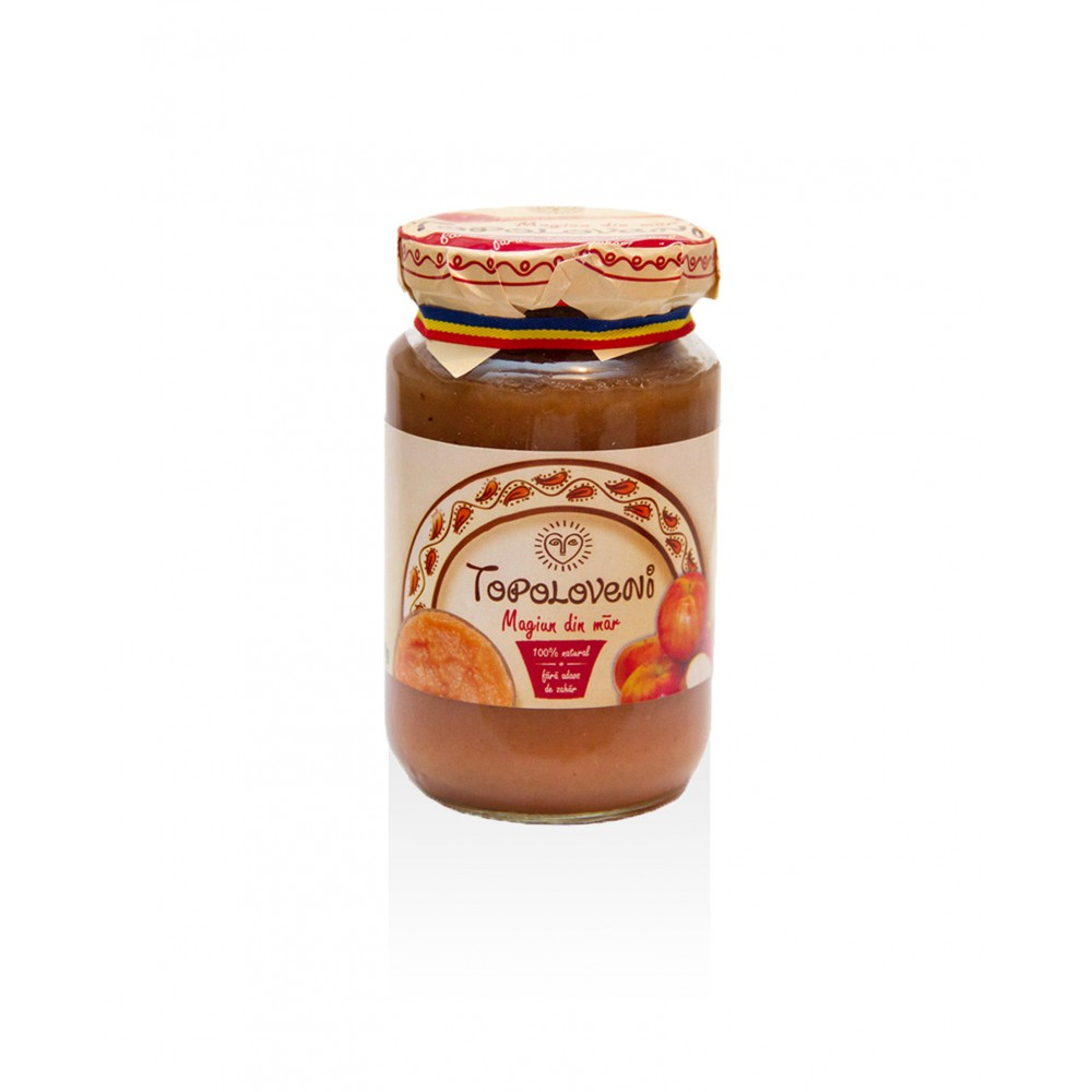 Apple jam, 100% natural, no added sugar